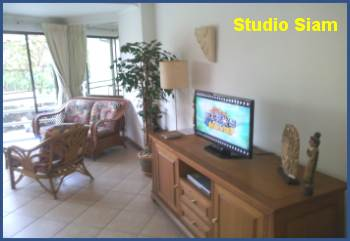 studio flat pas cher en location à View Talay Thailande